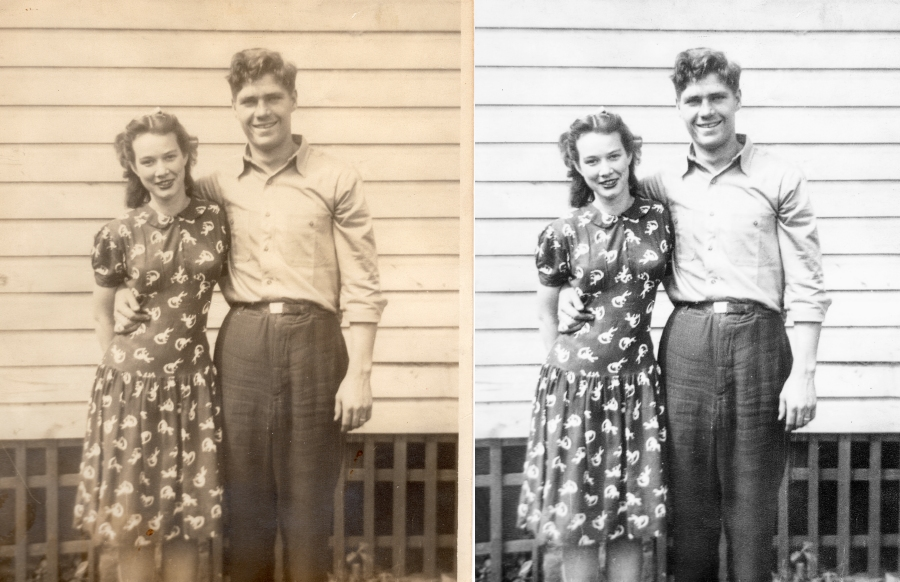 Photo Restoration Service - Grand Prairie