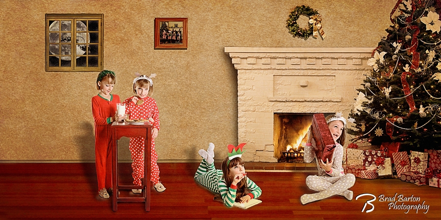 Quad Attack Christmas Photo Kids Children Grand Prairie 2