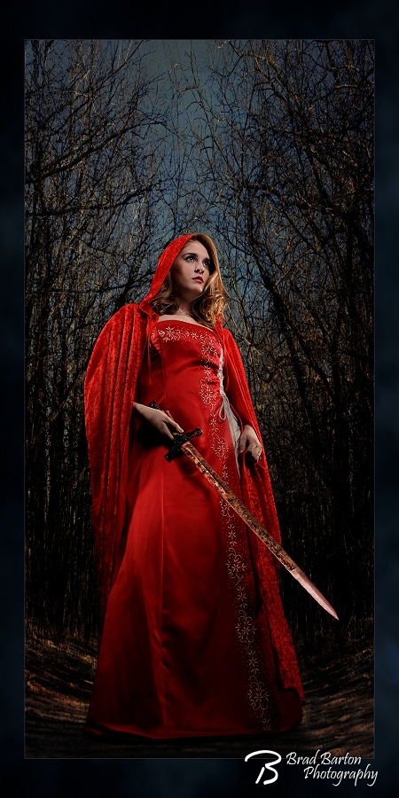 Revenge of Red Riding Hood Dallas Fantasy Photography