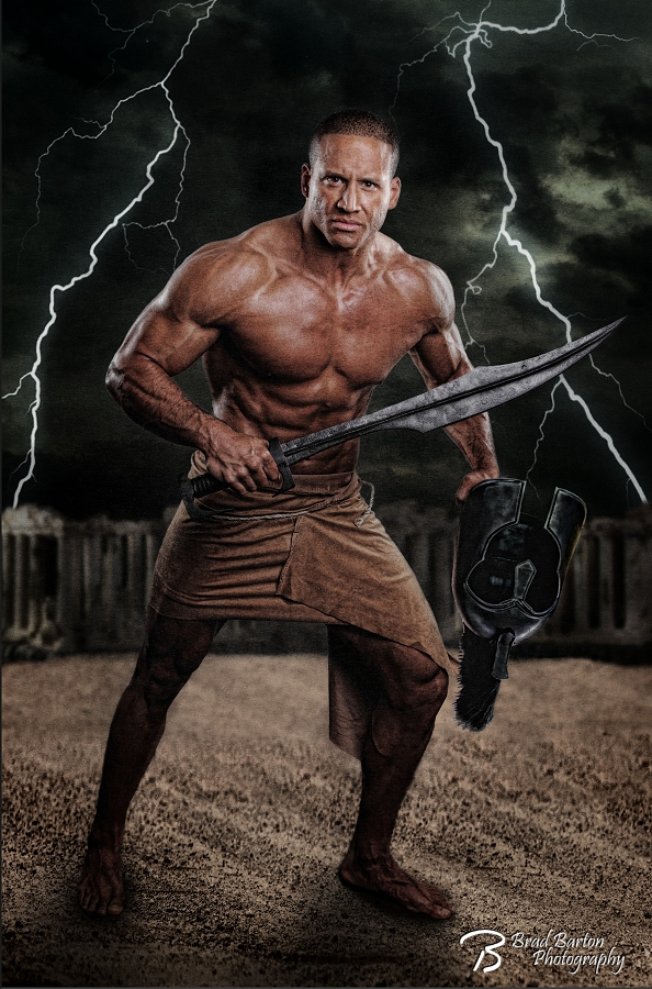 Grand Prairie Composite Photographer God of War