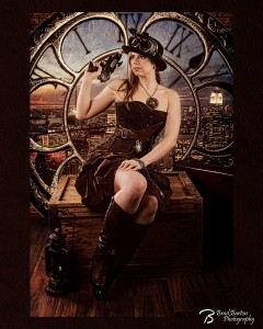 Queen of Time - Dallas Art Photgrapher Conceptual Steampunk