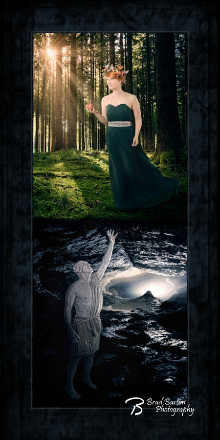 Dallas Fort Worth Art Conceptual Portrait Photography - Persephone and Hades