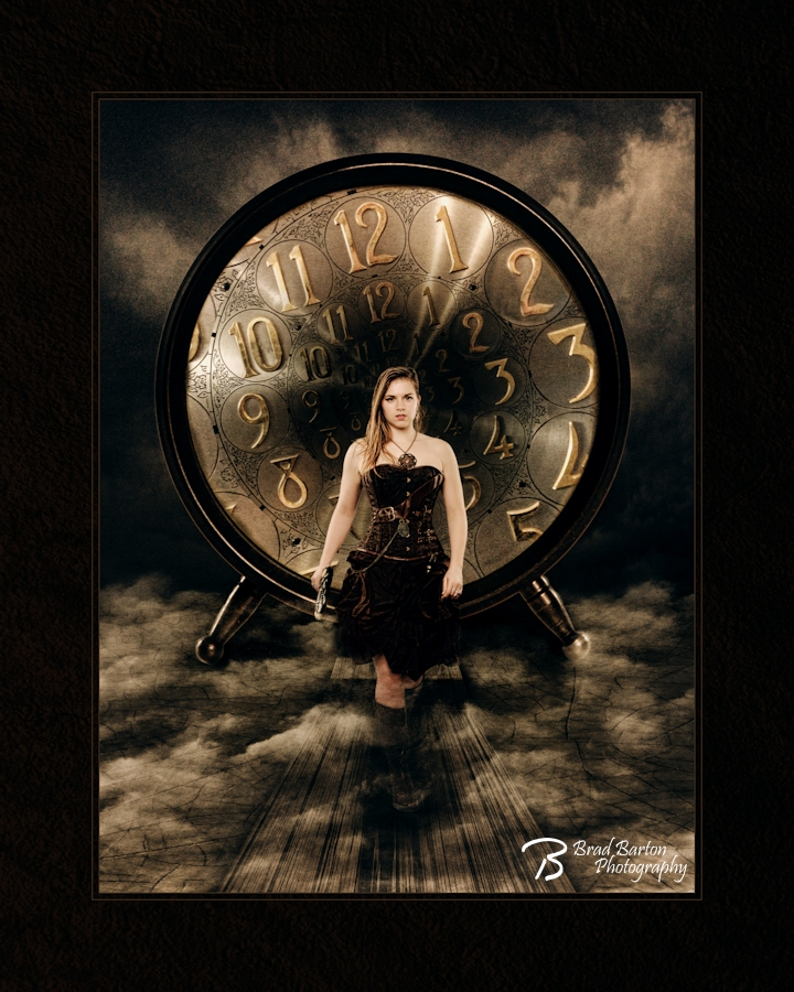 Grand Prairie Fantasy Steampunk Photography - Time After Time