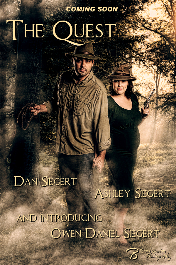 Dallas Movie Poster Photographer - Ashley and Dan