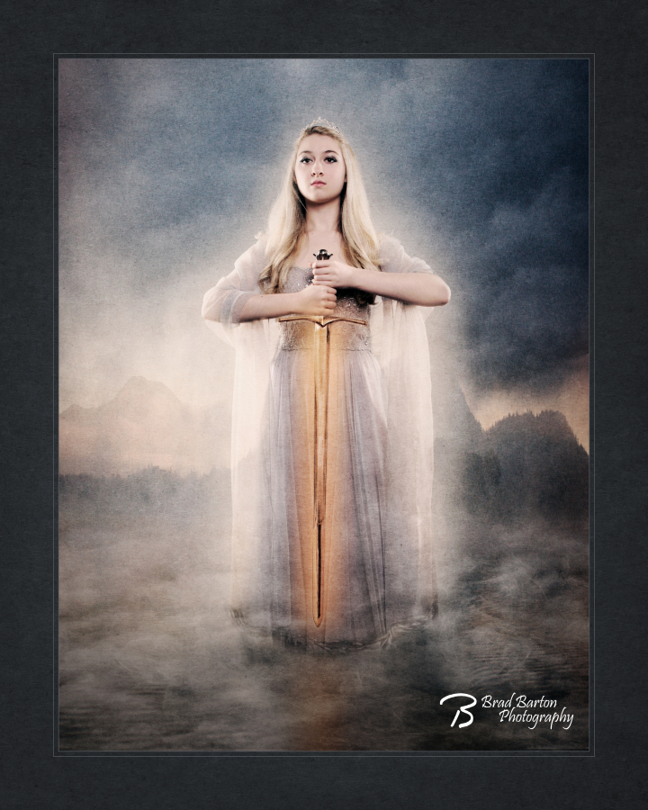 Epic Photographer Fantasy Photography Dallas King Arthur Lady of the Lake Mists of Avalon