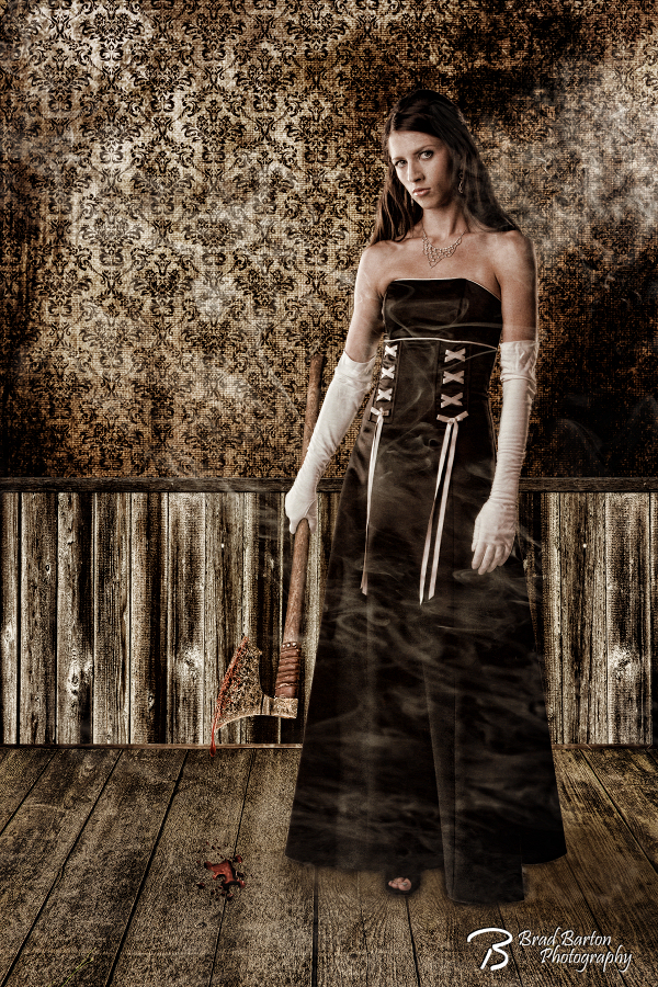 Lizzie Borden - Dallas Fort Worth Horror Halloween Conceptual Photographer 2394