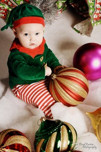 Creative Christmas Portrait Baby Dallas Fort Worth Photography 3675