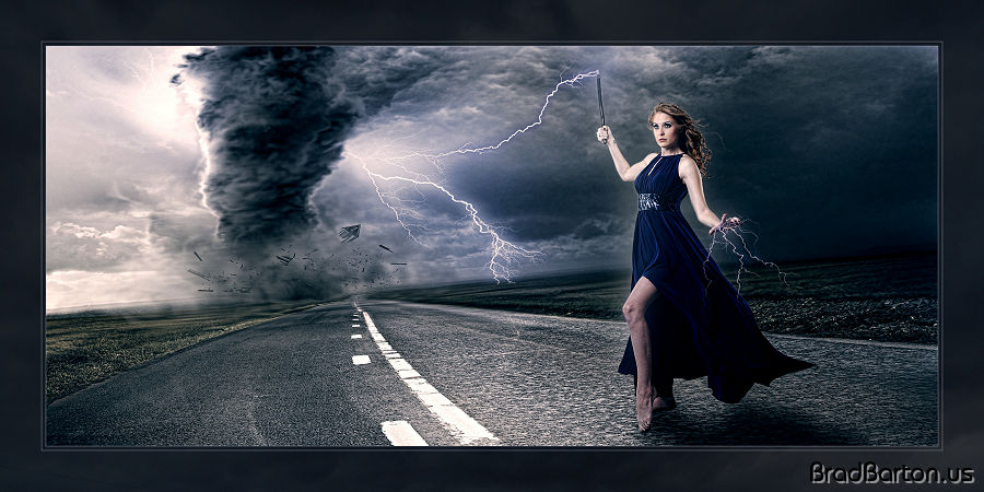 Grand Prairie Fantasy Photographer - Queen of the Storm
