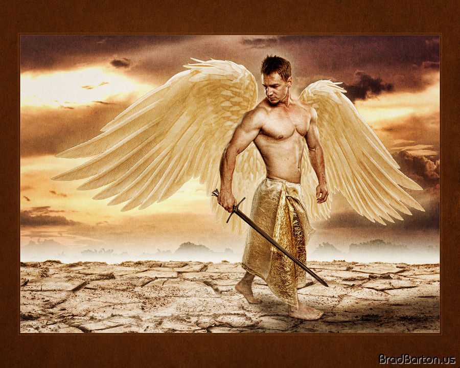 Grand Prairie Fantasy Photography - The Archangel