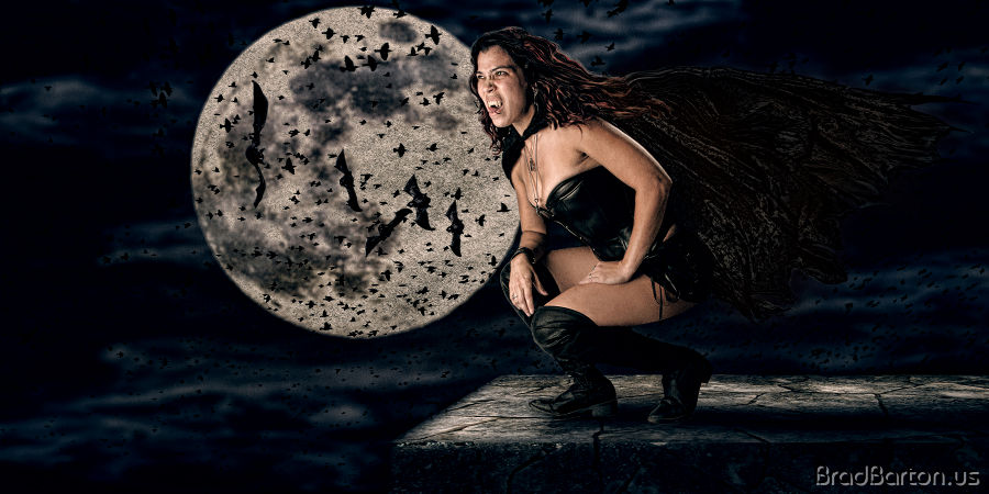 Grand Prairie Halloween Photography - Queen of the Vampires