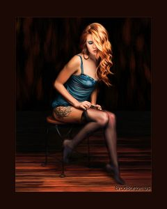 Dallas Intimate Photographer Pinup Boudoir IPC 2016 Paint Me Like One of Your French Girls