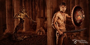 Fort Worth Dallas Concept Photographer Perseus and Medusa