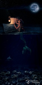 Dallas Conceptual Photography - Poor Unfortunate Souls - Mermaid - Mythology