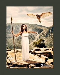 Dallas Conceptual Photography Mythology - Athena